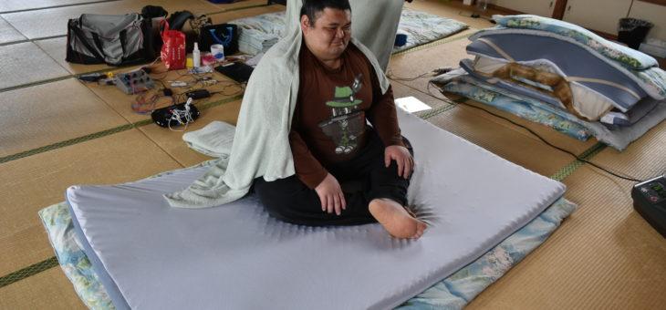 【39デザインマットレスで、アスリートはぐっすり眠れるのか!?〈3〉】〜山響部屋 奄美岳篇〜